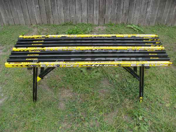 hockey stick bench plans