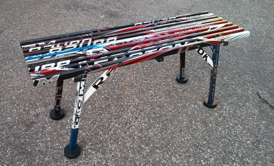 Bench Hockey Stick Builds