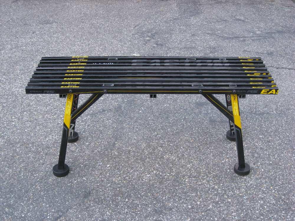 hockey stick chair design