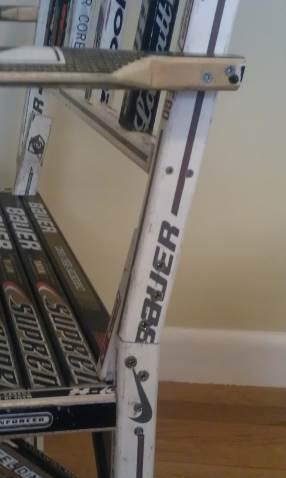 hockey stick chair leg joint