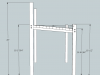 Hockey Stick Chair Plans Dimensions