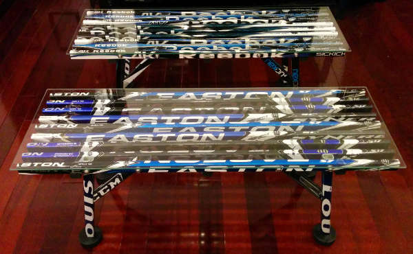 hockey stick coffee table plans