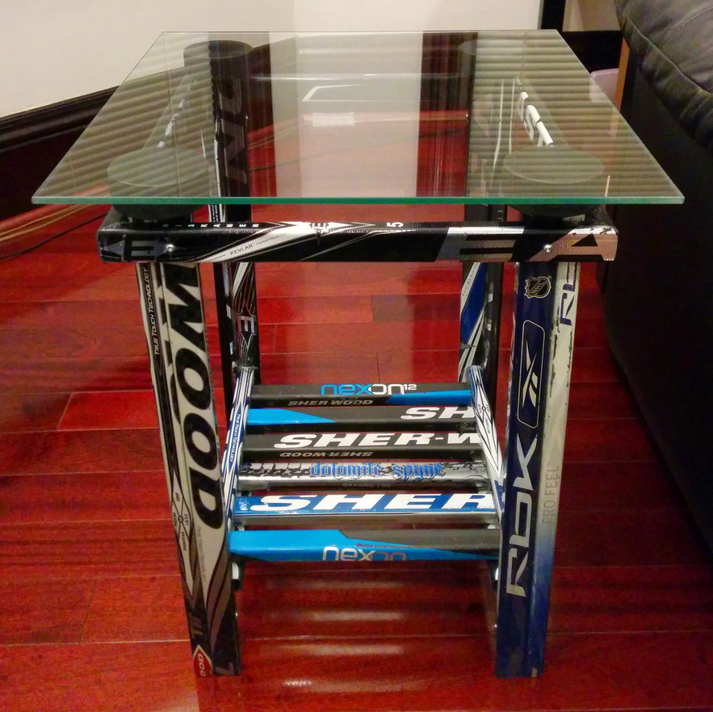 End Table Hockey Stick Builds