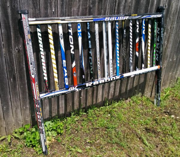 Headboard Hockey Stick Builds