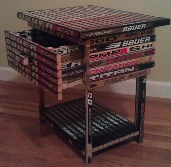 hockey nightstand stick
