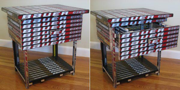 Nightstand Hockey Stick Builds