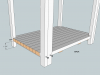 Hockey Stick Nightstand Plans Bottom Shelf