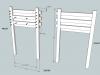Hockey Stick Nightstand Plans Drawer Slides