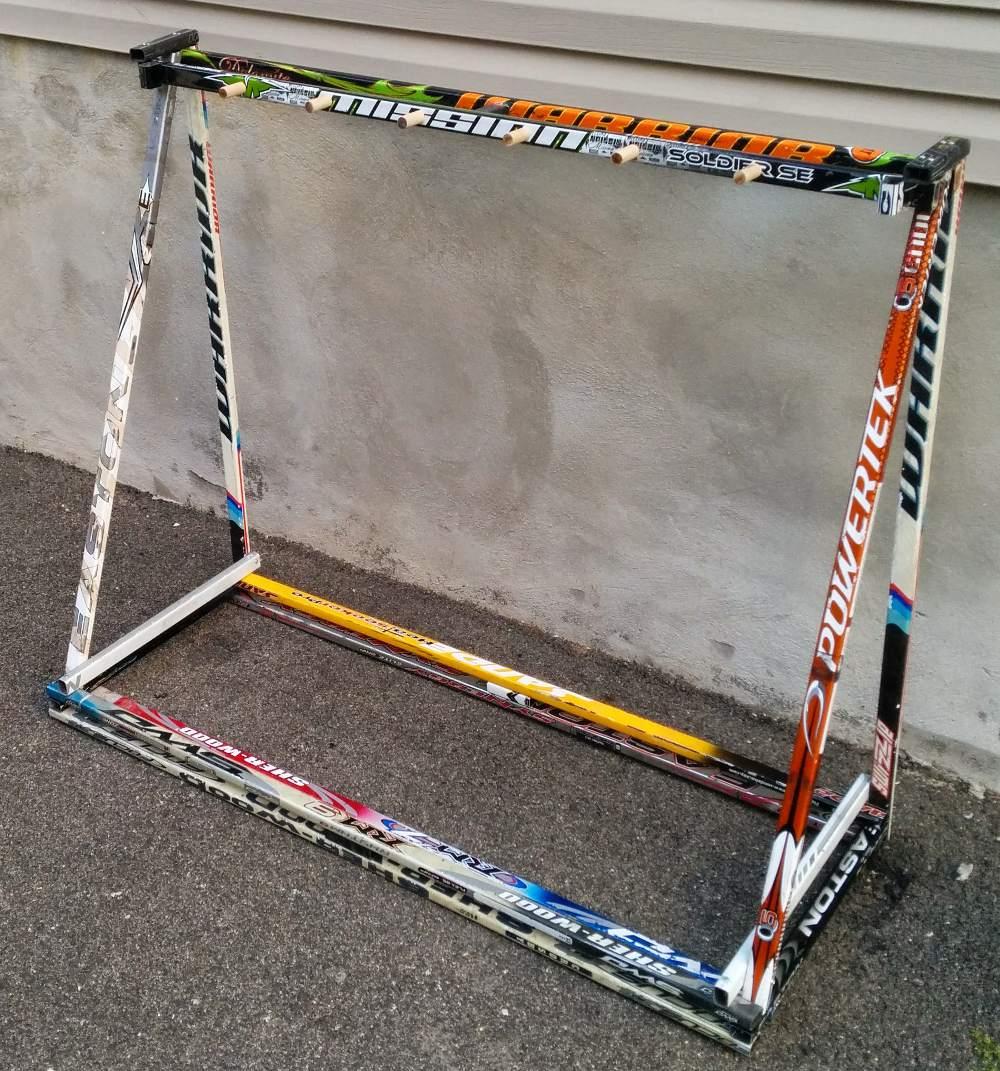 Stick Rack | Hockey Stick Builds