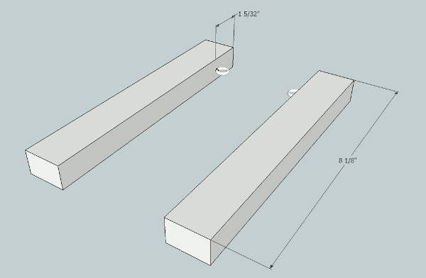 hockey stick wall clock attachments