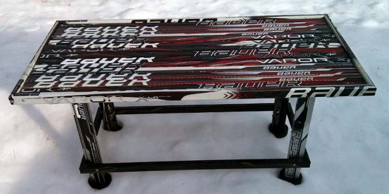 Hockey Stick Builds Building Custom Hockey Stick Furniture And Clocks