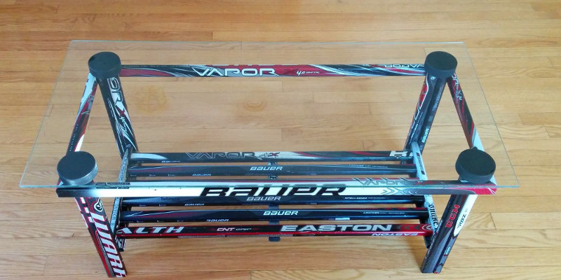 hockey stick builds  building custom hockey stick furniture and, Headboard designs